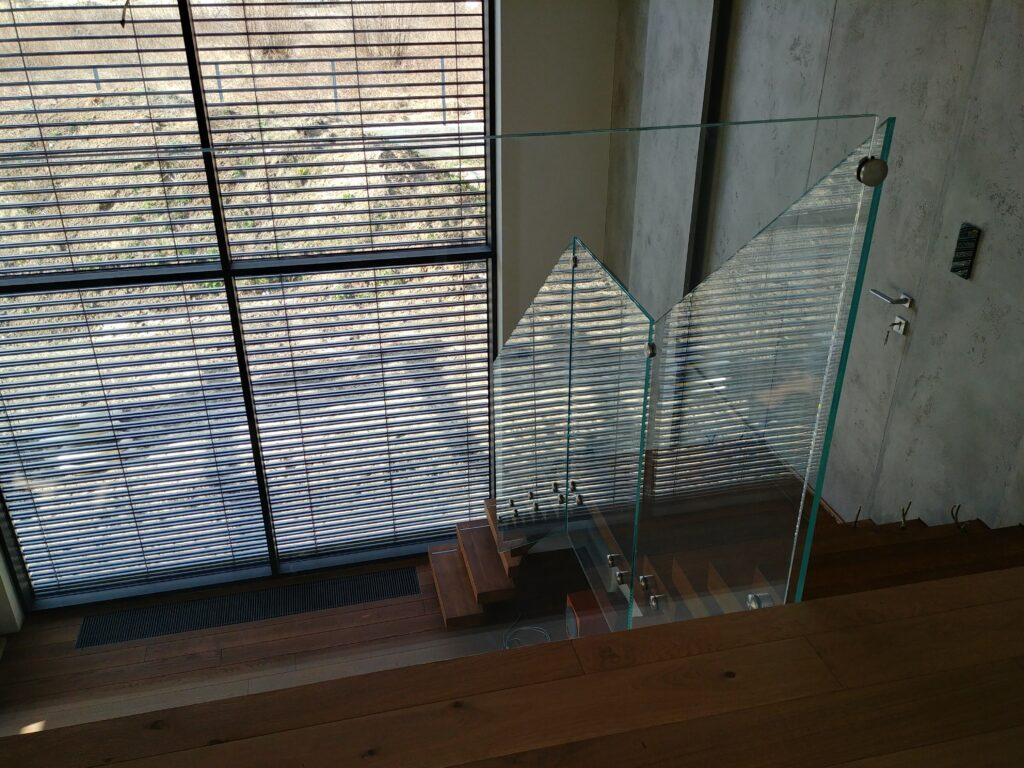 Balustrada szkło laminowane jasne (001)