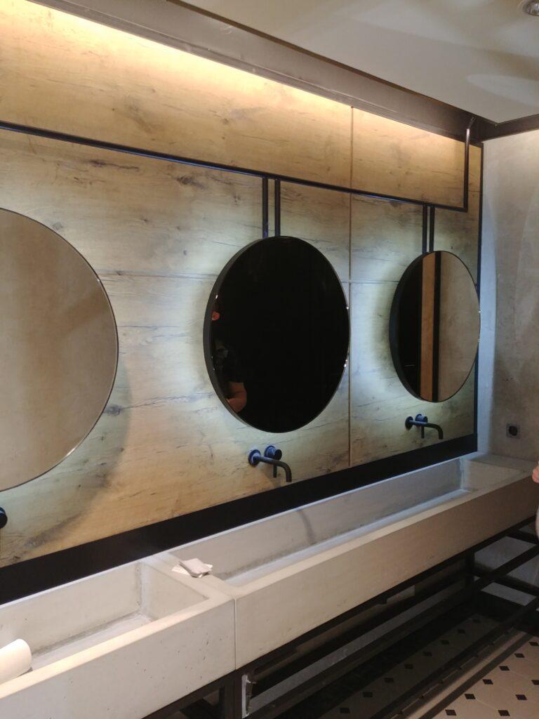 Okrągłe lustra podświetlane (2)