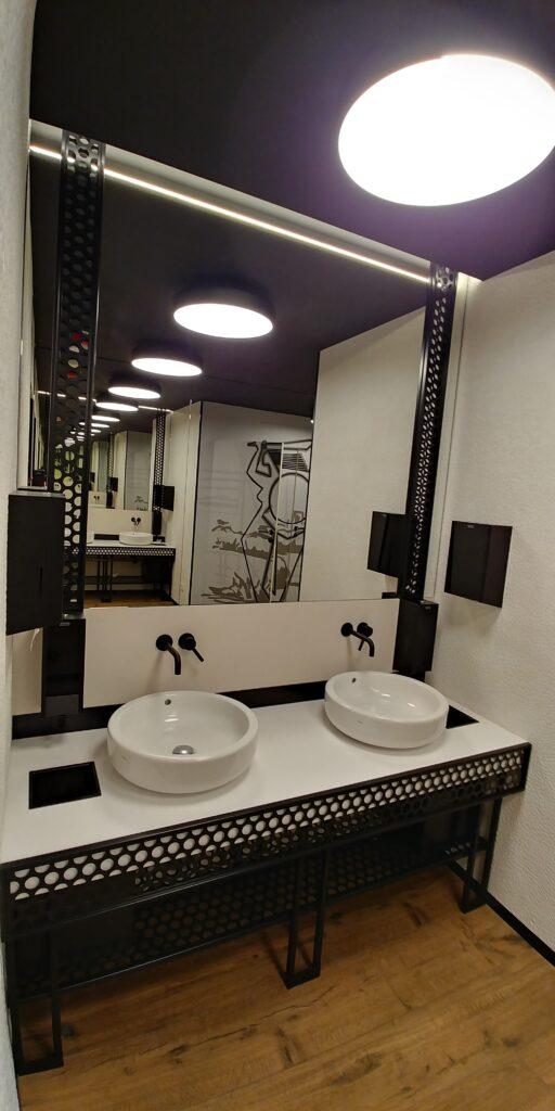 Lustro łazienkowe na wymiar