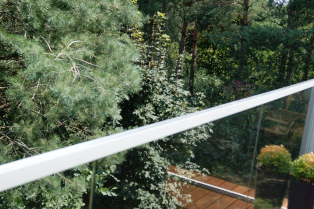 Szklana balustrada zewnętrzna (001)