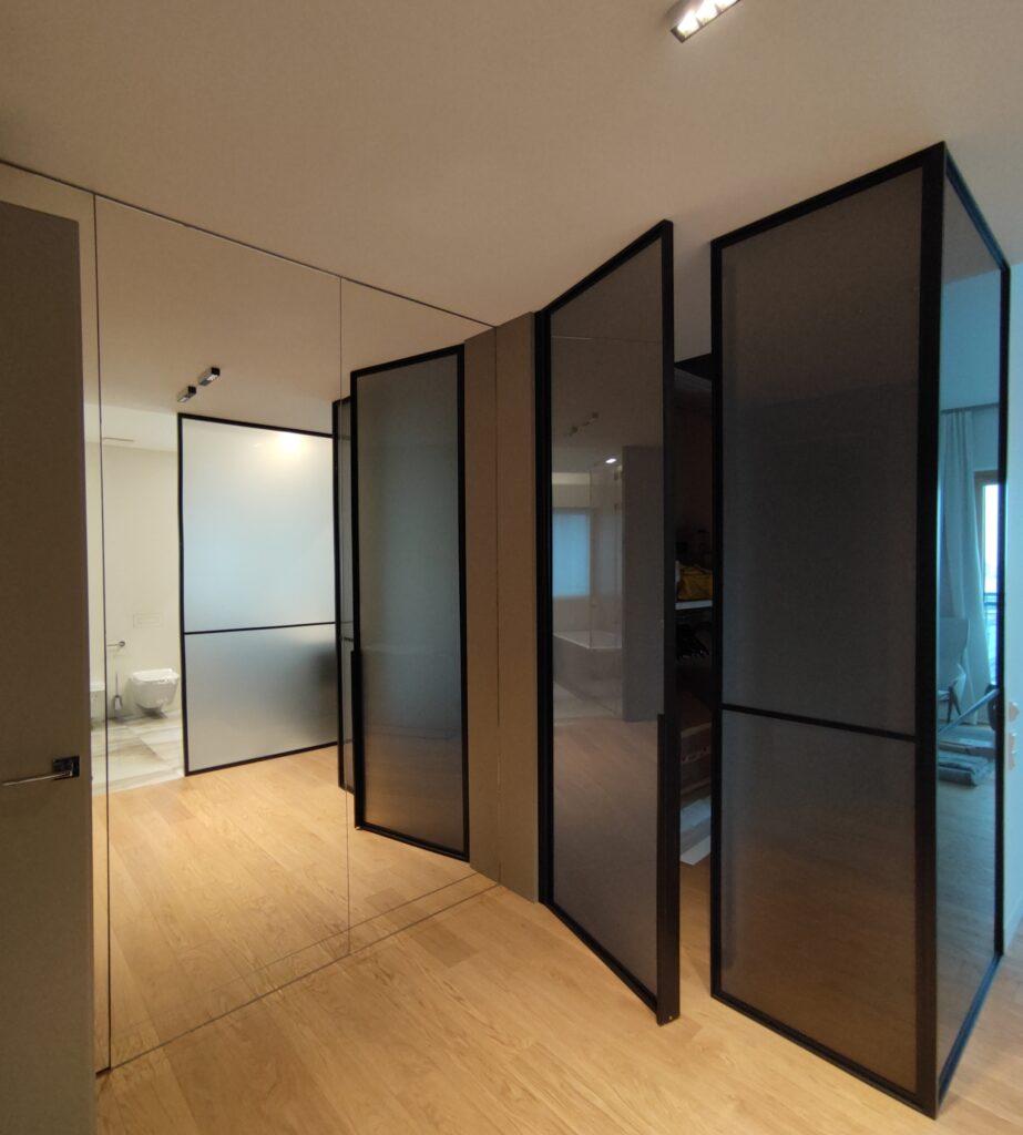 lustra naścienne, ścianki loft